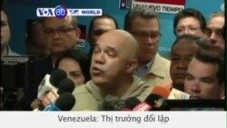 Thị trưởng thủ đô Venezuela bị bắt vì 'âm mưu đảo chính' (VOA60)