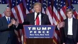 Ông Trump đối diện thử thách hàn gắn đất nước