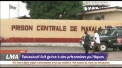 Tshisekedi libère les prisonniers politiques