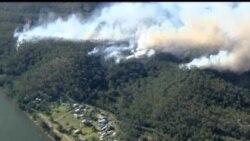 2013-11-03 美國之音視頻新聞: 澳洲警告山林大火有可能蔓延