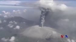 日本新燃嶽火山6年來再次爆發 (粵語)