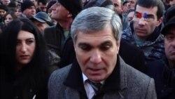 Քայլերթ․ «Անկեղծ ՝ ես մարտի 1-ով ինձ մեղավոր զգում եմ»․ Արամ Սարգսյան