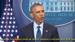 """Obama sobre Orlando: """"Um massacre horrível de dezenas de pessoas inocentes"""""""