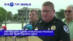 VOA60 World PM - N. Carolina Braces for Florence Storm Surge