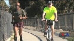 Як дитинство серед війни підготувало чоловіка до рекордів з бігу. Відео