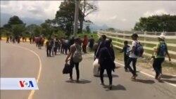 Hiljade migranata iz Hondurasa pješači prema Sjedinjenim Državama