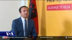 Kurti: Reciprociteti ndaj Serbisë - politikë më e qëlluar dhe më e drejtë se sa tarifa 100%
