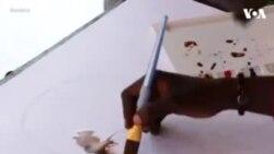ԱՌԱՆՑ ՄԵԿՆԱԲԱՆՈՒԹՅԱՆ. Գանացի նկարչի պատկերած Քոֆի Անանի դիմանկարը
