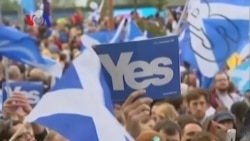 Britain's Panic as Scotland Comes ThisClose to Independence (VOA On Assignment Sept. 26, 2014)