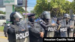 La policía nicaragüense ha ejecutado los arrestos de las últimas semanas en Nicaragua. Foto archivo Houston Castillo.