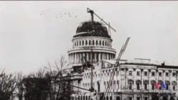 150 Year Old US Capitol Dome Being Restored