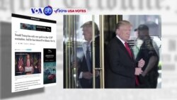 VOA60 Elections - CNN: Donald Trump's national field director, Stuart Jolly has resigned