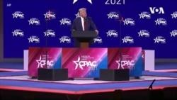特朗普周日在保守派政治行动大会上讲话