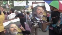 2013-07-09 美國之音視頻新聞: 埃及穆斯林兄弟會號召舉行抗議
