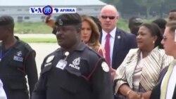 VOA60 Afirka: Uwargidan Shugaban Kasar Amurka Melania Trump Ta Isa Ghana A Yau Talata