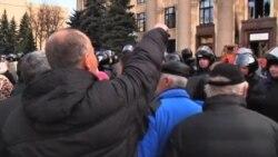 جان کری: روسيه مسئول ناآرامیهای شرق اوکراین است