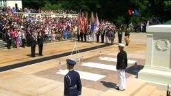 Obama rinde homenaje a caídos estadounidenses