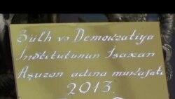 İsaxan Aşurov adına mükafat vicdan məhbusuna verilib