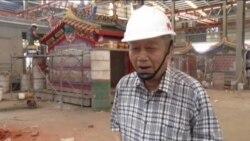 台湾工厂预制庙宇受到海外信徒欢迎