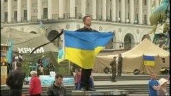 Kyiv scenes Sunday