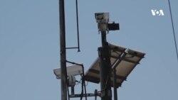 کمره های امنیتی در شهر کابل