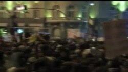 2013-02-24 美國之音視頻新聞: 西班牙民眾抗議政府的財政緊縮政策