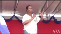 Ayiti: Vizit Premye Dam nan Martine Moïse nan Okay