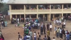 Reportage vidéo depuis un bureau de vote en Centrafique