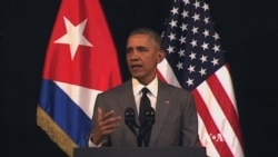 In Cuba, Obama Says It's Time To Bury 'Last Remnant' of Cold War