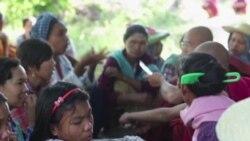 缅甸铜矿抗议者等待调查结果
