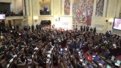 哥倫比亞國會批准政府與反政府武裝簽署和平協定