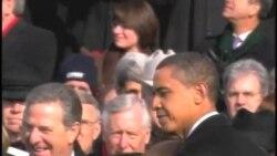 奥巴马第二次就职 国内气氛不同
