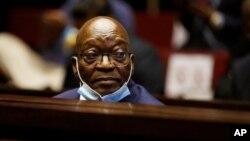 Owayengumongameli wele South Africa uMnu. Jacob Zuma.