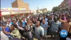 Sudan Amputee Protester Inspiring Anti-Government Demonstrators