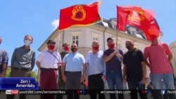 Protestë kundër akuzave ndaj presidentit të Kosovës