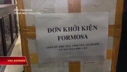 Ngư dân đệ đơn kiện Formosa tại tòa án Nghệ An