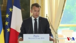 """Macron """"soutient"""" une ministre rwandaise pour diriger la Francophonie (vidéo)"""