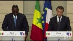 """Le président Sall veut que l'Afrique ne soit pas un """"ventre mou"""" face au """"terrorisme"""" (vidéo)"""