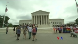 2018-06-05 美國之音視頻新聞:美國最高法院裁定拒做同性婚禮蛋糕的店主勝訴