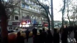حمله ماموران یگان ویژه به مردم در اردبیل، چهارراه امام خمینی