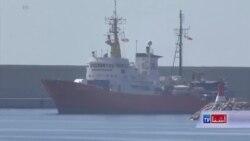 کشتی پناهجویان پس از یک هفته سرگردانی در اسپانیا لنگر انداخت