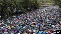 Protest u Hong Kongu, 18. avgust 2019.
