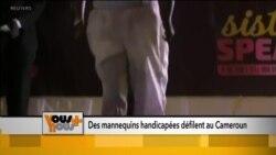 Des mannequins handicapés défilent au Cameroun