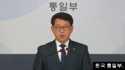 여상기 한국 통일부 대변인.
