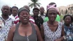 Les familles des manifestants gabonais disparus se rassemblent devant le tribunal