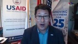 Դեյվիդ Հոֆման. ՀՀ-ում USAID առաքելության ղեկավար