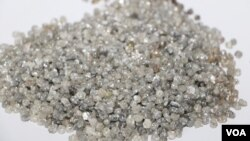 Botswana faces a diamond sales slump due to the global coronavirus outbreak. (Mqondisi Dube /VOA)