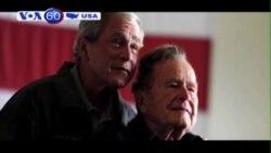 Cựu tổng thống George H.W. Bush nằm viện ngày thứ hai (VOA60)