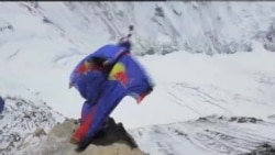 Salto mortal desde el Everest