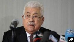 Rais wa Palestinat Mahmoud Abbas